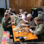 Essen bei Ute Meilinger nach dem Dreck Weg Tag