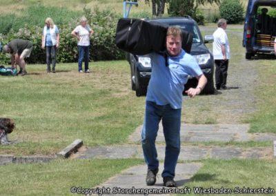 Helfer Tag der öffenen Tür - Vordergrund Heinz Höhn