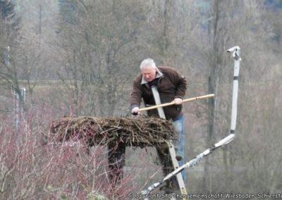 Horste säubern, Hubertus Krahner